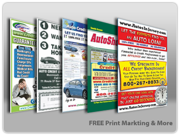 Auto sales internet marketing kits